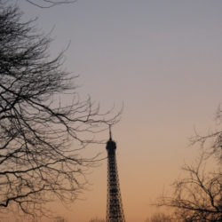 Paris [sunset]